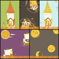 FAR FAR AWAY 2 by Heather Ross - Princess, Moons, Windham Cotton Quilt Fabric