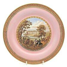 More details for antique strathfieldsaye the seat of the duke of wellington pratt ware plate