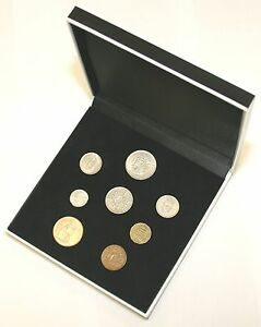 1963 Complete British Coin Birthday Year Set in a Quality Presentation Case