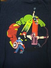 L black MARVEL THE AVENGERS CHARACTER LOGO t-shirt by EVE LOVE FINE