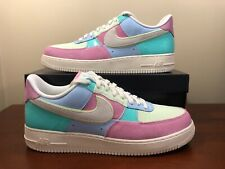 High Quality Nike Air Force 1 Low Retro Easter Egg DS Titanium Lime Ice Pink 307334 531 Women's Men's Casual Shoes Sneakers