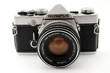 [Excellent Olympus OM-1 SLR Film Camera w/F.Zuiko 50mm F/1.8 Lens From Japan