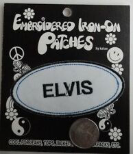 Elvis Presley Oval Name / Work Shirt Embroidered Iron On Patch - New