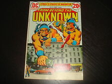 FROM BEYOND THE UNKNOWN #22  DC Comics 1973 VF