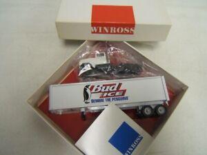 "Winross Bud Ice ""Beware the Penguins"" Tractor Trailer Truck 1/64 MIB"