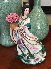Rose Princess Danbury Mint By Lena Liu Porcelain Figurine With Gold