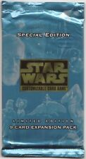 SPECIAL EDITION BOOSTER PACK [Factory Sealed] star wars ccg swccg