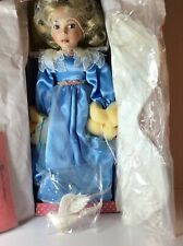Treasury Collection World's Finest Angel Of Peace Porcelain Doll - Original Box