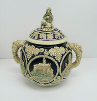 Rare and Vintage Marzi & Remy German Stoneware HUGE TUREEN - DETAILS!!