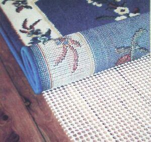 Super Grip Anti Non Slip Multi Purpose Mat Floor Rug Grip Gripper WHITE
