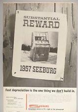 Seeburg Phonograph Juke Box PRINT AD - 1962