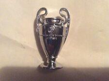 Champions league metal trophy,European cup,replica,mini,miniature,3D,subbuteo
