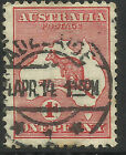 AUSTRALIA 1d ONE PENNY RED KANGAROO Used (No 3)