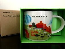 NEW Starbucks Limited Edition Marrakech Morocco Ceramic Mug Cup You Are Here