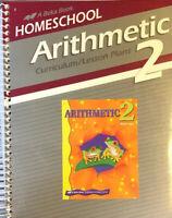 Abeka book Homeschool Arithmetic 2  Curriculum Lesson Plans