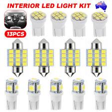 13X Car 12V T10 LED Lights Bright White Festoon Globe Bulb Interior Kit 31MM New