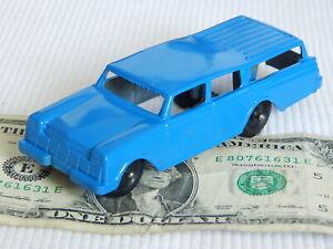 "TOOTSIETOY Vintage 1960 RAMBLER STATION WAGON 4"" Blue Diecast Metal Toy Car FINE"