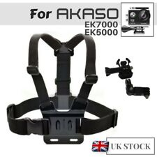 Chest Strap Harness Mount Holder for AKASO EK7000 EK5000 HD Action Camera