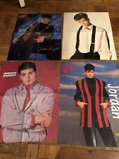 4 Jordan Knight Nkotb teen magazine poster clipping New Kids on the block