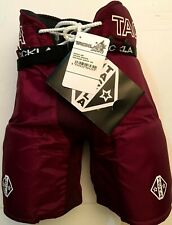 Tackla Model 400 Youth Ice Hockey Pant Maroon, Size Medium (100)