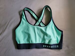 Womens Under Armour Compression Sports Bra Size Large