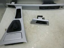 BMW 3 SERIES E92 COUPE DASHBOARD TRIM WITH CENTRE CONSOL TRIM SILVER CARBON