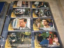 2004 Spider-Man Movie Master Set! Base + Lenticular + Reel Action Cel Cards
