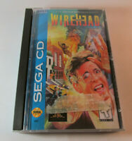 Wirehead (Sega CD, 1995) Complete CIB Game w/ Reg Card Nice Shape