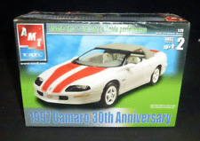 Amt Etrl Model Kit 1997 Chevy Camaro 30th Anniversary New Sealed Scale 1:25