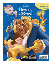 Phidal My Busy Book: Disney Beauty and The Beast Storybook Playset