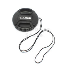 5x67mm Snap-On Center Pinch Front Lens Cap for Canon DSLR Lens replaces E-67U