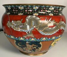 Large Asian Cloisonne Bowl