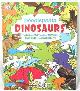 Doodlepedia Dinosaurs Colouring Roaring Facts Activity Book Draw Learn Create