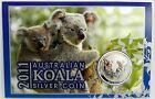 2011 1oz Carded Koala Perth Mint - 999 Fine Silver coin