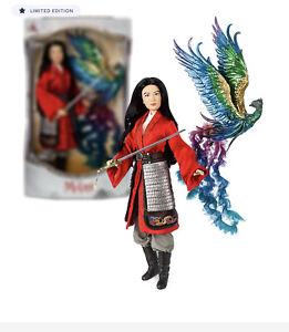 Disney Mulan Limited Edition Doll – Live Action Film – 17'' NIB!