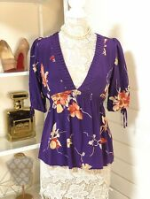 Pre-Owned Women's Yumi Kim Blouse, Purple, Sz M