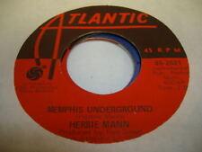 Soul 45 HERBIE MANN Memphis Underground on Atlantic