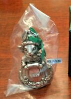 Arthur Court Collectible Christmas Ornament Bunny Bell Year  1999