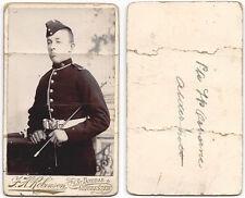 CDV Victorian Soldier named Osborne Carte de Visite by Robinson of Chichester