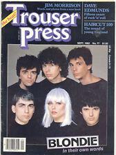 Trouser Press 12/82 Blondie Jim Morrison Nr