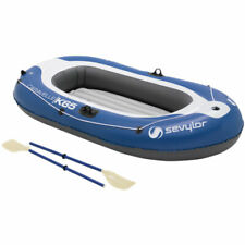 Sevylor Caravelle KK65 Inflatable Raft Inflatable 2 Person 89 13/16in Blue New