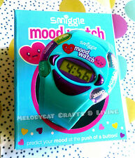 SMIGGLE TECH KIDS GIRL'S NOVELTY DIGITAL WATCH - MOOD PREDICTING, AQUA