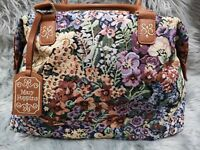 Disney Mary Poppins Floral Flower Carpet Handbag Bag