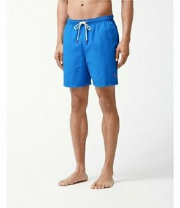 Tommy Bahama Naples Coast BT Swim Trunks Board Short 4XLB Santorini Blue NWT $85