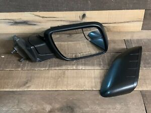 Power Mirror For 11-15 Ford Explorer Right Side Manual Fold Textured Black NEW