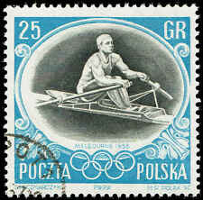 Scott # 752 - 1956 -  Sculling ', 16th Olympic Games Melbourne