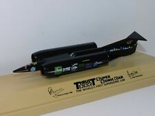 LLEDO THRUST SSC SUPERSONIC LAND SPEED RECORD CAR 1:100 SCALE BLACK