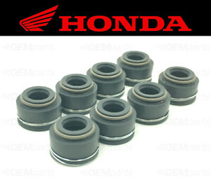 Set of (8) Intake & Exhaust Valve Stem Seals Honda (See Fitment Chart)