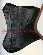 "Steel Boned Underbust Corset with a Hidden Busk XS-3xl 22""-34"""