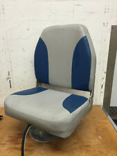 Marine Fishing Boat Folding Back Chair Seat with Springfield Pedestal